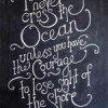 You can never cross the Ocean unless you have the courage to lose sight of the shore.