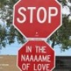 Stop in the name of love