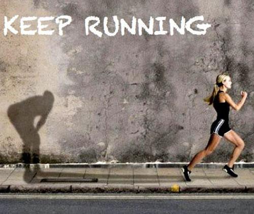 Keep running…