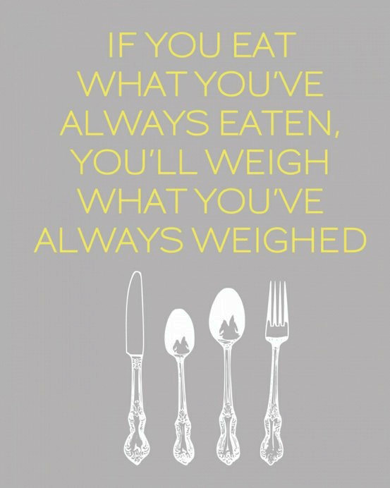 if-you-eat-what-you've-always-eaten-you'll-weigh-what-you-always-weighed