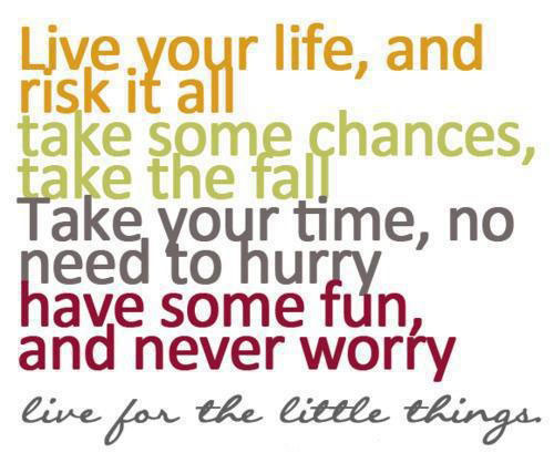 live-your-life-and-risk-it-all