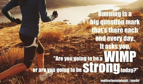 Running is a