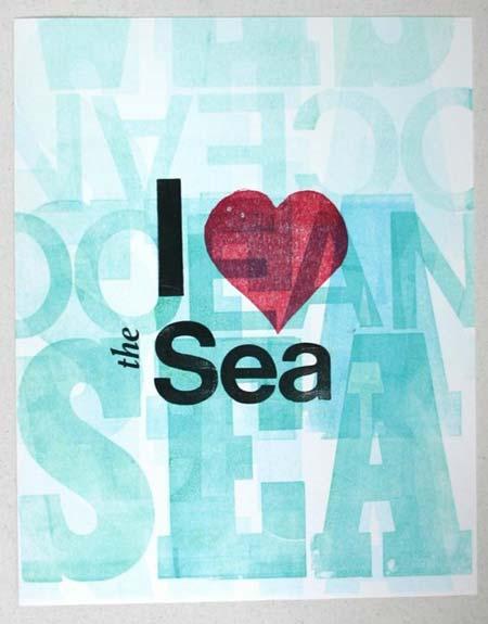 I love the sea