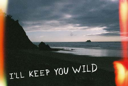 I'll keep you wild