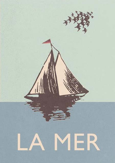 La mer, the sea
