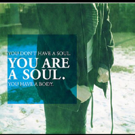 You don't have a soul, you are a soul, you have a body