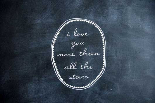 Stars And Love Quotes: I Love You More Than All The Stars