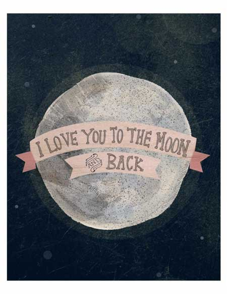 i love you to the moon and back quotes quotesgram. Black Bedroom Furniture Sets. Home Design Ideas