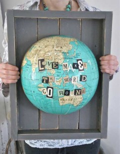 Love makes the world do round