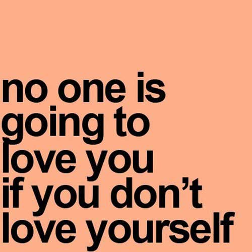 Quotes About Love Yourself : Quotes About Loving Yourself For Who You Are. QuotesGram